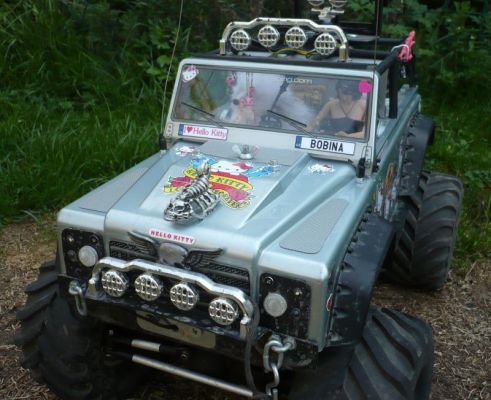 HPI Wheely King 4x4 - Defender